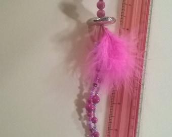 long pink roach clip