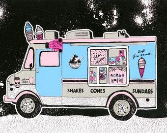 No.2 ice cream truck