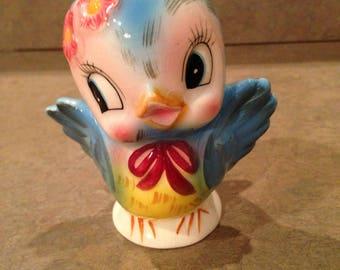 Geo Z Lefton Blue Bird  Salt Shaker