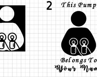 Breast Pumping Decals