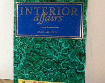 Book Decorative Arts Faux Painting 'Interior Affairs' Alex Davidson  1986