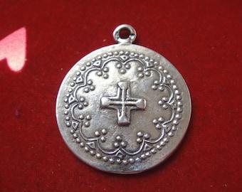 925 sterling silver pendant with cross, silver cross, cross