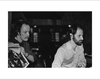 MORGAN FISHER and Eddie Kramer. One-off limited edition MOTT photo by Morgan Fisher. Free shipping worldwide!