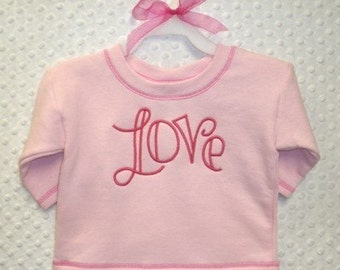 LOVE 1 Machine Embroidery Applique Design