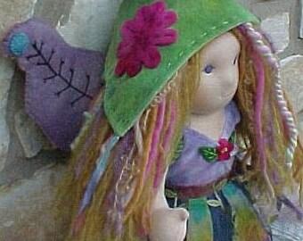 Princess Fairy Waldorf Doll, 16 inch Custom