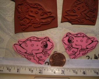 frog toad tree hopper  rubber stamp un-mounted scrapbooking rubber stamping