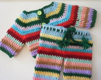 Gender neutral rainbow pajamas