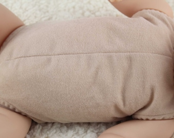 "19""-20"" reborn doe suede body for baby doll kits for completely full limbs arms & legs!"