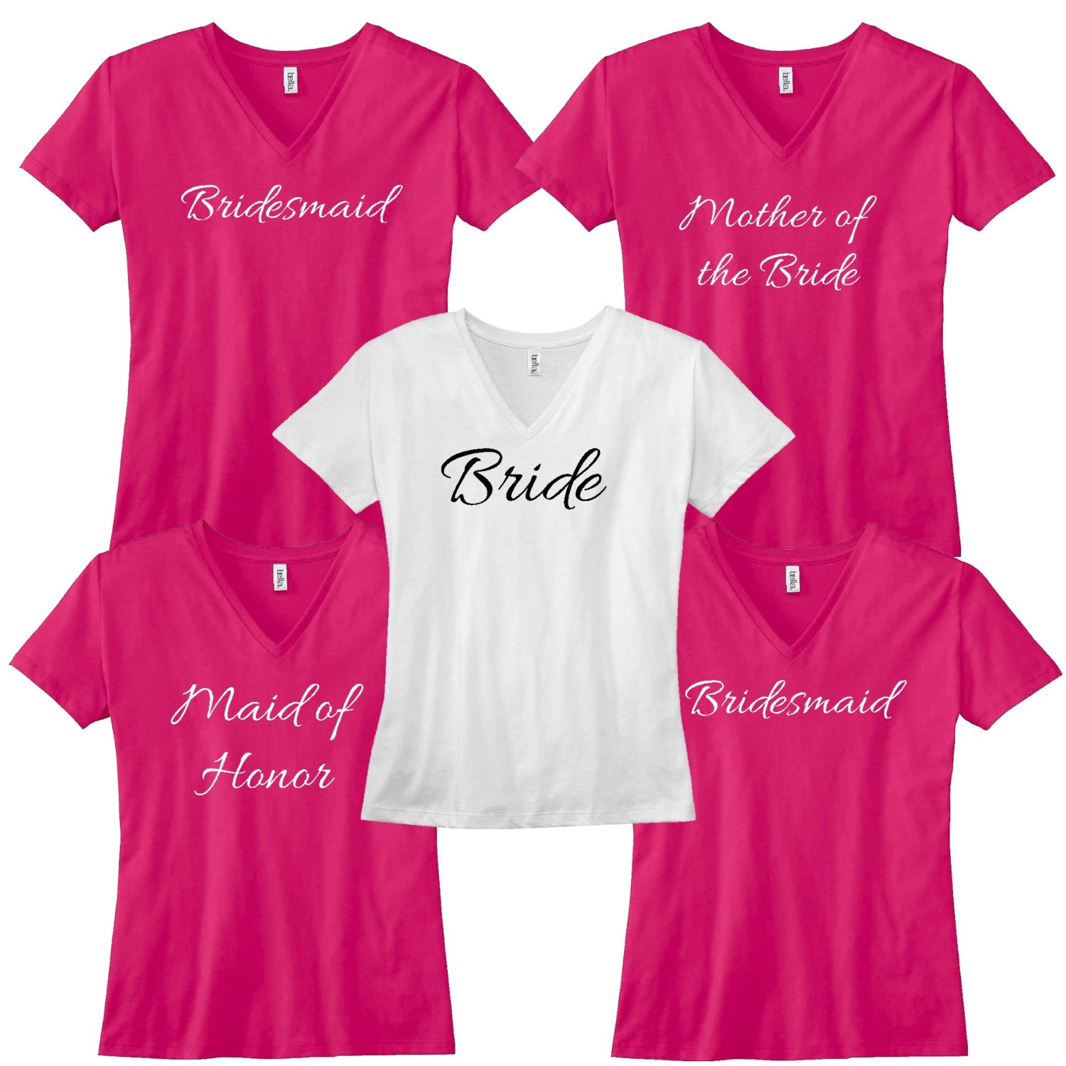 96 Bachelorette Party Shirts For Bridesmaids Shirts For