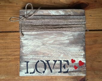 twine picture frame