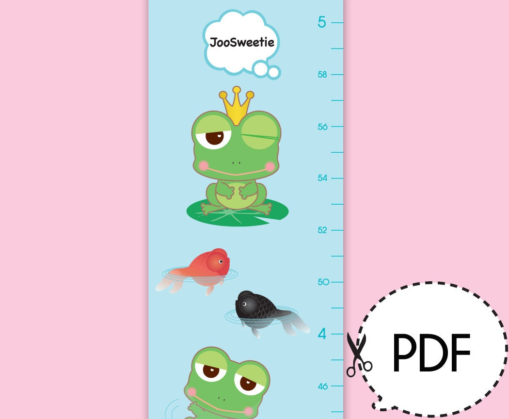 Frog life cycle growth chart printable pdf download zoom nvjuhfo Gallery