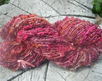 """summer fruits """"skein of spun wool"""