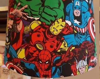 Avengers lamp shade