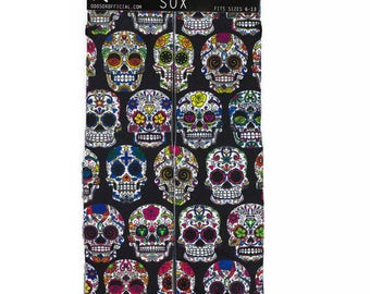 odd sox day of the dead buy any 3 pairs get the 4th pair free adult sizes 6-13