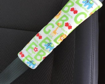 Adult Seat Belt Cover Padded for Child in Booster Seat