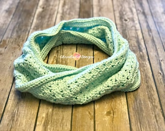 2 Way Crochet Cowl Pattern Only