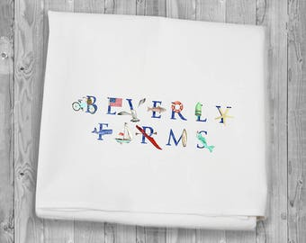 Flour Sack Towels for kitchen and bar: Beverly Farms