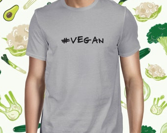 Vegan Men's T-shirt Cute Vegan Shirt Plant-based Tee Cute Plant Tee Vegan Shirt Cute Vegan Tee Vegan Shirt Planteeful Vegetarian Tee