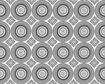 Riley Blake Fabrics Parisian - Circles & Flowers Fabric