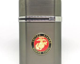 US Marines Desktop Lighter – 1″ Color