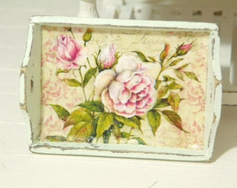 dollhouse miniature tray