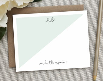 Personalized Stationery. Personalized Notecard Set. Personalized Stationary. Note Cards. Personalized. Stationery. Sets. Angled.