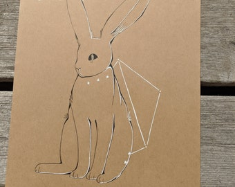 Libra Jack Rabbit Constellation Original