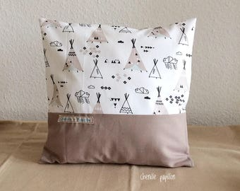 Kids pillow cover - pillow for kids room - pastel Cushion cover