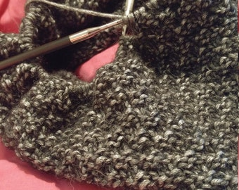Checkerboard Cowl Pattern