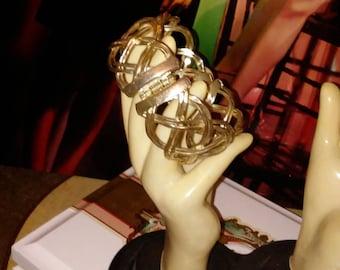 Bold & Unique Silver Cuff Bracelet