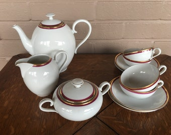 Bohemia Czechoslovakia Coffee/Tea Dinnerware Set
