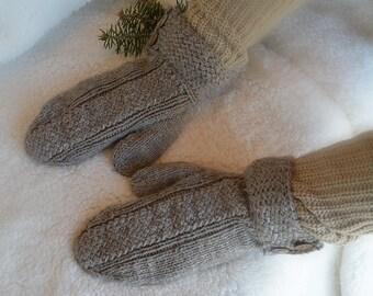 KNITTING PATTERN PDF Mittens // Knit pattern mittens for women // knitting pattern mittens for child // mittens knitting pattern // Adult