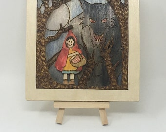 Red Riding-Hood (Forest) Wall Hanging