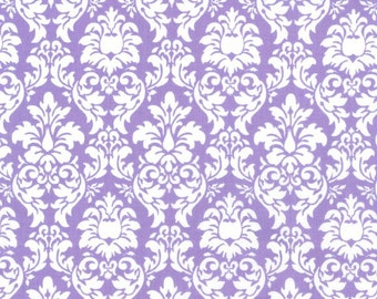 Petite Dandy Damask, 6557 Purple, by Michael Miller Fabrics
