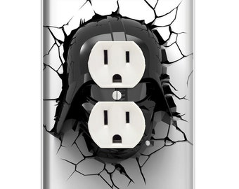 Darth Vader Decorative Outlet Cover - Decorative Outlet Cover
