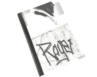 GREAT graphic inspiration notebook - diary - recipe book