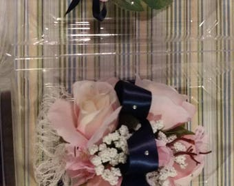 Corsage and BOUTONNIERE Sets. Custom made to match your dress.