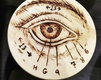 Small Human Eye Anatomy Box
