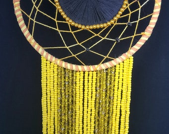 Yellow&Gold Color Black-Eyed Susan Dreamcatcher