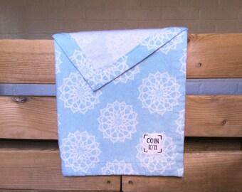 MANDALA / / single layer flannel baby blanket
