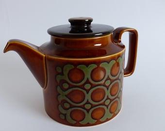 Hornsea Bronte Teapot by John Clappison 1975