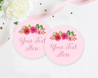 Custom Sticker Labels, Custom Bridal Shower Label, Custom Shower Stickers, 2 Inch Stickers, Favor Stickers