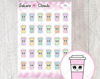 I012 - Coffee Stickers