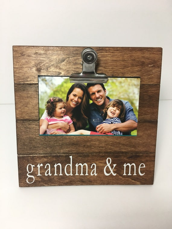 Grandma and me picture frame, clip picture frame, grammy and me ...