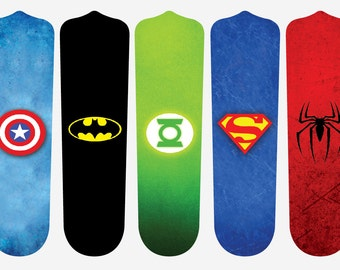 Super Hero Fan Blades