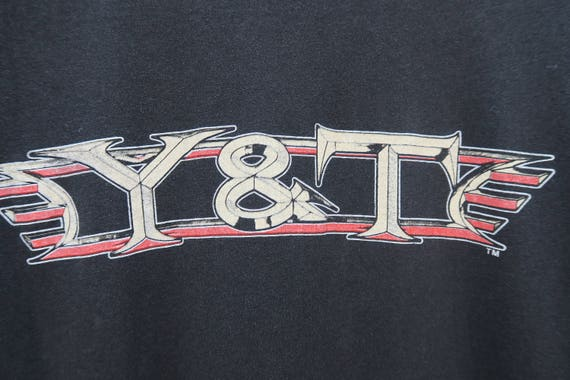 0419 - Y & T - Face Melting Music - Band Shirt As9hL4l1