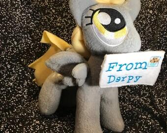 Derpy / Bubbles pony plush