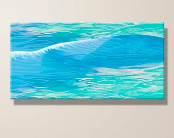 Ocean Wave, Gentle Wave, Water, Sea, Abstract Art, Contemporary, Giclee Print, Large Canvas, Print, Home Decor, Gift For Him, Office Decor