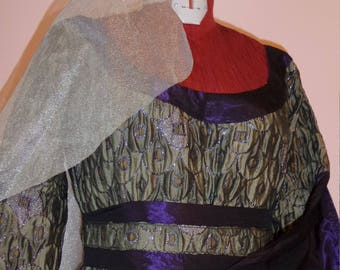 "Medieval theatrical carnival dress ""Checkers"""