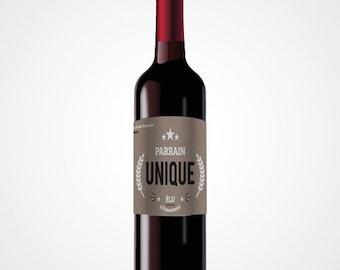 Label wine - Thanksgiving sponsor
